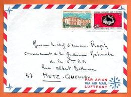 AFARS ETDES ISSAS    DJIBOUTI     1971   Lettre Entière N° BC 175 - Afars Et Issas (1967-1977)