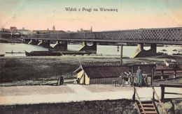 Poland - WARSZAWA - Widok Z Pragi Na Warszawe - Publ. K. Wojutynskiego 386. - Polonia