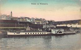 Poland - WARSZAWA - Widok Na Warszawe – Paddle Boat Wisla - Publ. K. Wojutynskiego 388. - Polonia