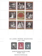 1630h: Motivblock, Gedenkblock Wiener Staatsoper - Theater