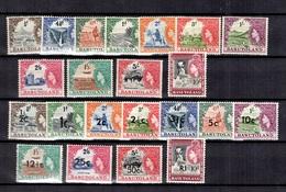Basoutoland YT N° 45/56 Et N° 72/82 Neufs **/*. B/TB. A Saisir! - 1933-1964 Colonie Britannique