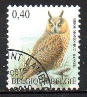 BELGIQUE. N°3706 Oblitéré De 2007. Hibou Moyen-duc. - Owls