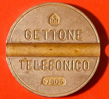 ITALIA - Usato - 1978 - Gettone Telefonico - 7805 - Italia