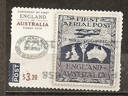 Australia 2019 First Aerial Post England Australia Obl - 2010-... Elizabeth II