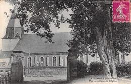 C P A  76 La Remuée Seine Maritime Vue Artistique De L'église - Francia