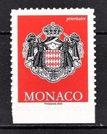 MONACO 2020 - VALIDITÉ PERMANENTE LETTRE PRIORITAIRE - NEUF ** - Monaco