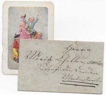 ALTDEUTSCHLAND - 1 JANVIER 1869 ! - ENVELOPPE TAXEE à 1/2 + DATEUR VIOLET ! - Deutschland