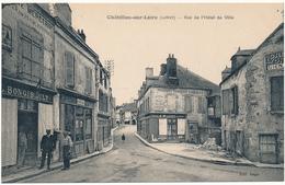 CHATILLON SUR LOIRE - Rue De L'Hôtel De Ville - Chatillon Sur Loire