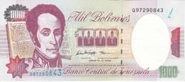 BILLETE DE VENEZUELA DE 1000 BOLIVARES DEL 6 DE AGOSTO 1998 SIN CIRCULAR  (BANKNOTE) UNCIRCULATED - Venezuela