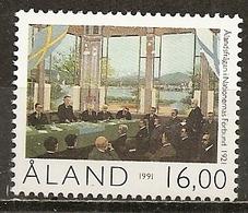 Aland 1991 Autonomie Autonomy MNH ** - Aland
