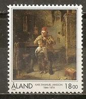 Aland 1996 Peinture Painting MNH ** - Aland