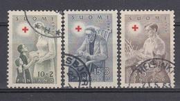 FINLANDIA 1954 Nº 405/407 USADO - Gebraucht