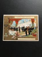 Chromo LU – Lefèvre Utile 1902 – Fêtes Franco – Russes – L'arrivée A Dunkerque - Lu