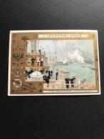 Chromo LU – Lefèvre Utile 1902 – Fêtes Franco – Russes – La Revue Navale - Lu