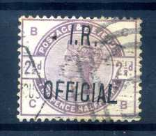 1885 GRAN BRETAGNA SERVIZIO N.5 USATO - Dienstpost