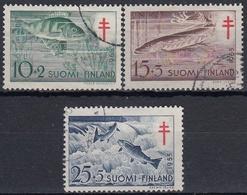 FINLANDIA 1955 Nº 426/428 USADO - Gebraucht