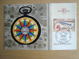 FRANCE Carte Maximum  PARIS 11-14/6/1964. - Cartes-Maximum