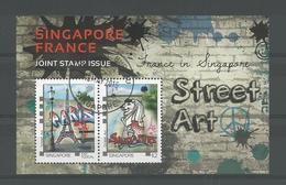Singapore 2015 Street Art S/S  Y.T. BF 172 (0) - Singapour (1959-...)