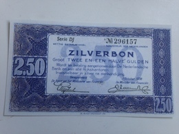 Billete Holanda. 2,5 Gulden. 1938. Amsterdam. Pre II Guerra Mundial. Réplica. Sin Circular - [2] 1815-… : Kingdom Of The Netherlands