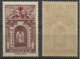 Monaco N° 214 Année 1940 Neuf Avec Charnière - Monaco