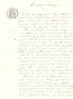 Vieux Papier Du Béarn, Aast, 1901, Lescloupé échange Avec Lassus Un Taillis Et 2 Terres Contre Une Pâture - Documents Historiques