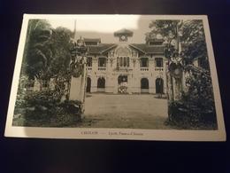 Saigon Cholon Lycée Franco Chinois - Viêt-Nam