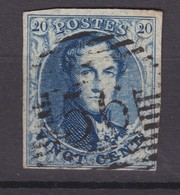 N° 7 Margé Aminci : 56  HARLEBEKE COBA +15.00 - 1851-1857 Medallions (6/8)