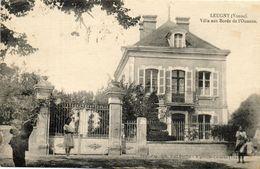 - LEUGNY (89) - Villa Des Bords De L'Ouanne  (animée)  -13493- - Sonstige Gemeinden