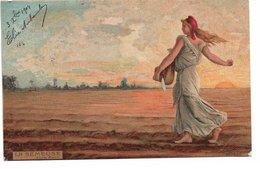 L170A094 - Tableaux Célèbres - La Semeuse D'après Roty - KF éditeurs Série 833 - Peintures & Tableaux