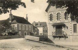 - LEUGNY (89) -  Le Pont  (attelage)  -13494- - Sonstige Gemeinden