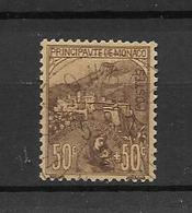 MONACO- SUPERBE  TIMBRE BELLE OBLITERATION N° 31- AVEC SIGNATURE D'EXPERT -DE 1920 -A SAISIR !!! - VOIR SCAN DU VERSO - Monaco