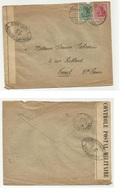 Censure 35 Lettre De 1918 D'Allemagne Pour Vesoul - Storia Postale