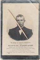 Oorlogsslachtoffer, 1917, Gent, Wachtebeke, Gesneuveld, Gustaaf Marquenie, Fierens - Images Religieuses