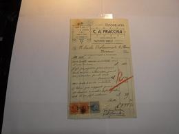 MONDOVI -BREO    --- CUNEO  ---  TIPOGRAFIA   C.A. FRACCHIA - Italia