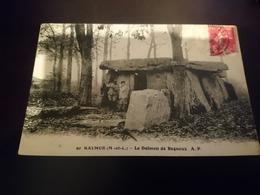 Cpa Le Dolmen De Bagneux - Saumur