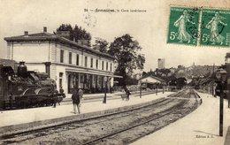 SOMMIERES  Gare Intérieure - Sommières