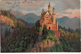 L170A099 - Très Joli Vue D'un Château . Carte Précurseur - - Fantaisies