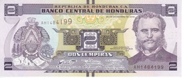 BILLETE DE HONDURAS DE 2 LEMPIRAS DEL AÑO 2016 SIN CIRCULAR (BANKNOTE) UNCIRCULATED - Honduras