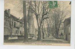 CRÉMIEU - Promenade Des Tilleuls - Crémieu