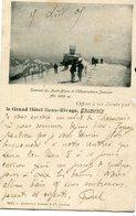 CHAMONIX =le Grand Hotel Beau Rivage : Sommet Et L' Observatoire Janssen  (offert à Ses Clients)  1305 - Bonne
