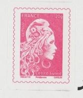 FRANCE / 2019 / Y&T N° AA 1656A ** : Marianne D'YZ TVP France 20g + SUIVI X 1 Sur Feuillet D'origine - Adhesive Stamps