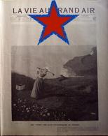 1901 DIEPPE ET POURVILLE - LE GOLF CLUB DE DIEPPE - LES LINKS LES PLUS PITTORESQUES DE FRANCE - LA VIE AU GRAND AIR - Livres, BD, Revues