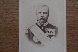 Cdv Photographie Militaire   Second Empire  Général   De Failly - Guerra, Militari