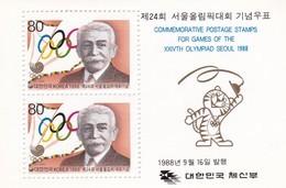 Corea Del Sur Hb 417 Al 420 - Corea Del Sur
