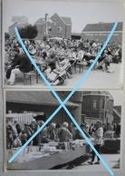 Photox4 OPHAIN Waterloo Braine L'Alleud Brocante Village N°1 Reine Fabiola 1994 Brabant Wallon - Orte