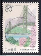 Japan 1998 - Prefectural Stamps - Hyogo & Tokushima - 1989-... Emperador Akihito (Era Heisei)
