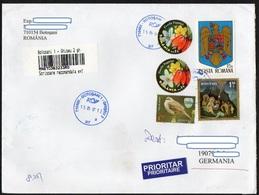 Rumänien 2016 R- Brief/ Letter/ Lettre  Europa ,  Format/ Size 23x16cm ! - Briefe U. Dokumente