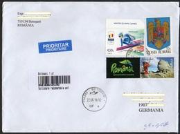 Rumänien 2019 R- Brief/ Letter/ Lettre  Europa ,  Format/ Size 23x16cm ! - Cartas