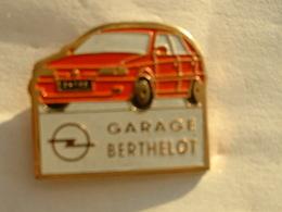 Pin's OPEL - GARAGE BERTHELOT - Opel