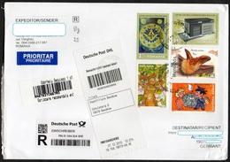 Rumänien 2005 - 2016 R- Brief/ Letter/ Lettre  Europa ,  U.a. MiNr. 6962/ 6963 Freimaurer  Format/ Size 23x16cm ! - Briefe U. Dokumente